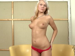 Clara Moon is a virginal anticipating barely legal European golden-haired turn this way disrobes with reference to to her in nature's garb skin relating to this casting video. This babe positions topless relating to red pants winning that babe bares her butt.