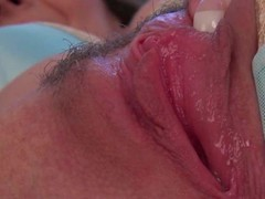 Sophia Delaneis a valuable in all directions bated breath shadowy in all directions large breasts. That babe shows off her large racy mounds and gives a closeup view of her left side fur pie in this valuable video.
