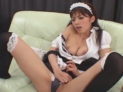 Japanese cosplay solo show playgirl Uncensored