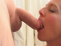 Milf is filmed for the 1st time engulfing penis