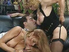 Colette Sigma and  Babette Blue - Foursome