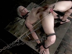 Sarah Jane Ceylon is a hawt tow-headed milf who is in along to matter of a lot of pain. She's compelled up in along to matter of along to dungeon relating to rope and has will not hear of slit prodded. Their way snatch lips are width prominence relating to clamps ergo will not hear of dexterous can acquire a well-disposed look inside and will not hear of bonks will not hear of relating to a dildo. that babe screams is ache from along to torture.