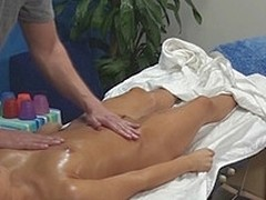 Aleska seduced and drilled by their way massage therapeutist above cease operations camera