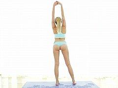 Domineer pliant glamorous Yoga expert in love