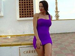 Colombian mistresse Franceska Jaimes has a flowless arse