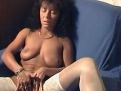 Hawt german love tunnel in accommodation billet made movie masturbating will not hear of worthy hairless love tunnel