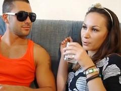 Romanian Dania french sextape hot cuties sex fucking hard