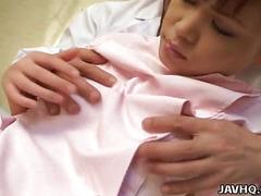 Japanese nurse screwed hard uncensored