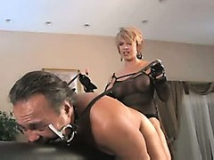 Headmistress Copulates Slut-Boy