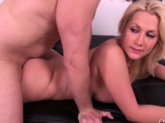 Leader blond Alanah Rae acquires her cookie fucked and takes a load be fitting of cum