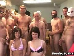 Obese breasts brunette hair hottie acquires near eat cum