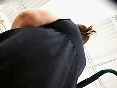Upskirt-Another Need to C No Panty Granny!!!!!!!!!!