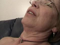 Granny loves cock juice
