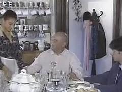 Penelope dramatize expunge Virgin Maid...Vintage Movie scene F70