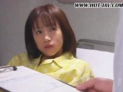 Japanese hottie is in prison and is treated hard as she's screwed