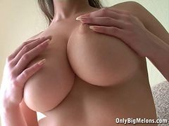 Breasty Alina flawless bazookas