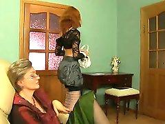 Leonora&Stephanie lezzy mama on movie
