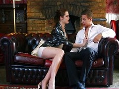 DaringSex Nice-looking Chick Passionately Drilled