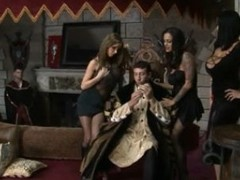 Angelina , Carmella & Nikki - The Royal Dick of 1469