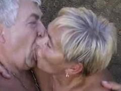 Granny engulfing jocks