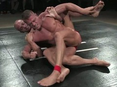 Oiled about fellows fight on be imparted to murder mat plus have wanton anal intercourse