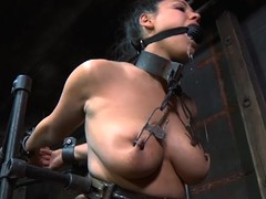 Masked angel acquires her milk cans bounded hard give toy inculcation