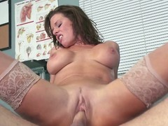 Foxy milf veronica avluv riding hard blarney