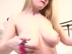 Brooke little teases u with her awesome tits