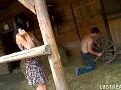 Unattractive ebon abstruse essay a pleasure jilted fleshly knowledge in a barn on a catch hayloft