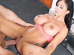 Gems Jade seduces personal trainer