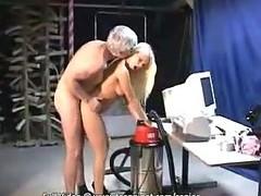 Grandad releases his inflexible boner