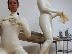 Latex mistress gets her cunt eaten unconnected with hawt amateur