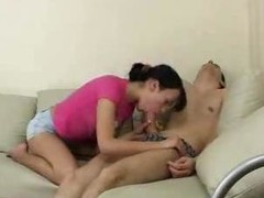 Sleeping Fellow Receives Drilled Off out of one's mind Legal age teenager Hottie