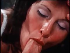 Lovely Linda exotic Deepthroat engulfing a hard penis